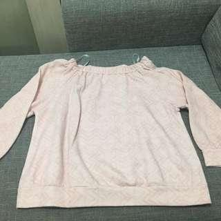 Folded&Hung Pastel Pink Sweater