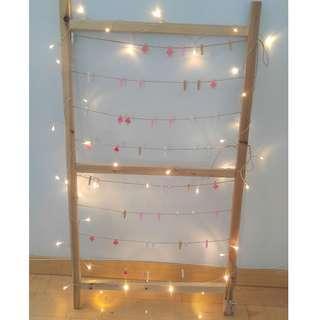 LED 燈串裝飾 5米50燈串 暖白色