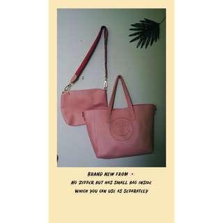Pink Tote from 🇯🇵