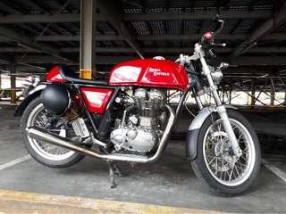 Royal enfield continental gt 535 timeless classic cafe racer