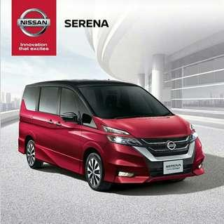 All New Nissan Serena 2019 - Open Indent