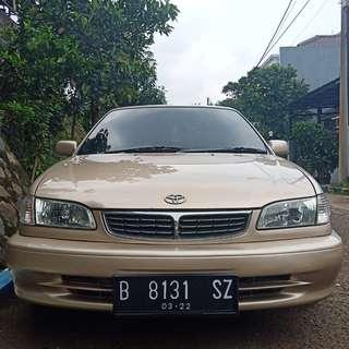 All new corolla SEG 2001' a/t 1800cc