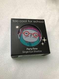 100%New&Real Too Cool For School Party time 單色眼影Single Eyeshadow
