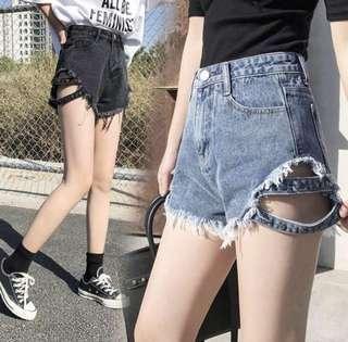 🚚 牛仔藍短褲