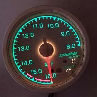 GReddy Air fuel ratio ( A/F, AF ) meter