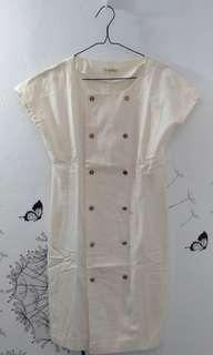 Broken White Korean Dress