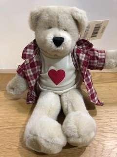 🚚 Teddy Bear (Red Checkered Shirt)