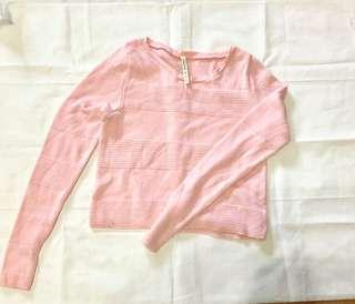 Stardivarius Pink Knit Long Sleeve