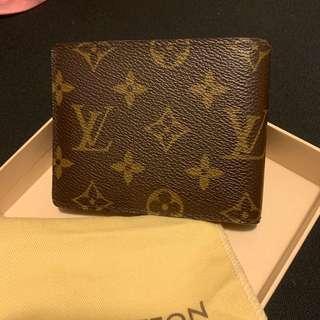 LV wallet經典款銀包 男女裝 wallet 100%真 99%新 未用過