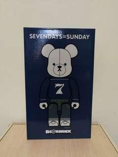 Bearbrick 400% SEVENDAYS=SUNDAY