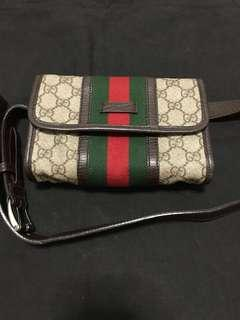 Authentic antique GUCCI waist pouch