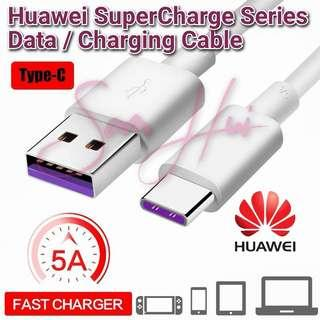 Original Huawei 4.5V/5A SuperCharge Type-C Cable for Huawei