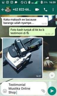 Testimonial Handycam