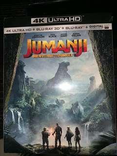Jumanji 2 (全新) 4K UHD & Blu Ray & 3D