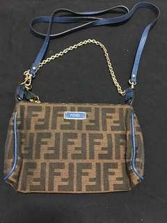 🚚 Authentic FENDI crossbody Bag and hand carry bag.  Brand new..!