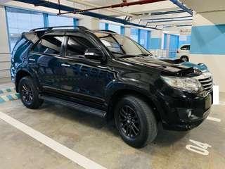 2014 Toyota Fortuner A/T Diesel V 4x2 2.5L
