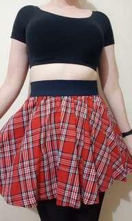 GIRL EXPRESS Tartan Skirt size 8