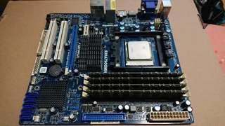 🚚 ASRock 939A790GMH with AMD Althon X2 4800