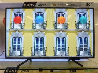 Sony LED Smart TV 50Inc KDL-50W660F