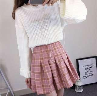 (bnwot!) pink pleated skirt