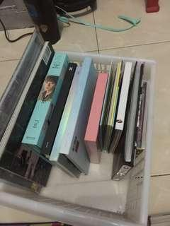 Kpop album only set
