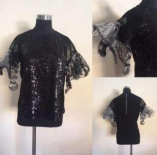 Stylish sequined top