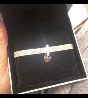 Pandora reflexion bracelet with charm