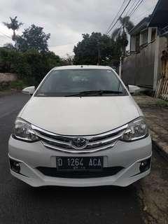 Toyota Etios valco G mt 2014 putih
