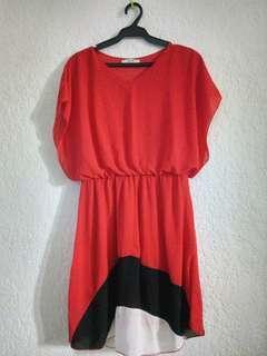 REPRICED!!! Sakaya Chiffon dress