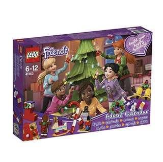 Lego Friends Advent Calendar 41353