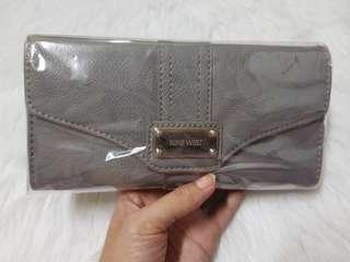 AUTHENTIC Nine West Long Wallet - Gray