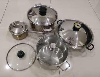 Stainless Steel Pots set