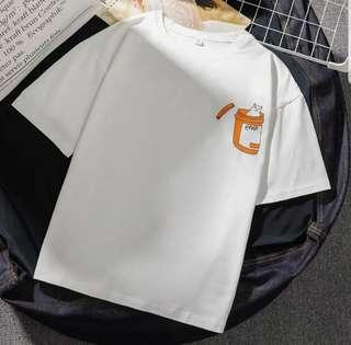 [PO] ULZZANG CAT IN CONTAINER SHIRT