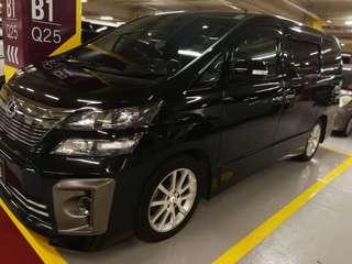 vellfire2009/2013 CC 3.5 7seatter recon Gearbox engine smooth