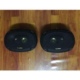 """T-Audio, 6""""x9"""" Three Way Car Speakers (300 watts max)"""