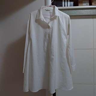 🚚 Meier.q 長版長袖襯衫 1