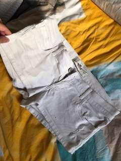 Hollister white shorts 27 fits 10