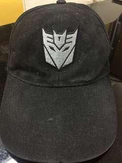 Transformers Decepticon Cap by Hasbro
