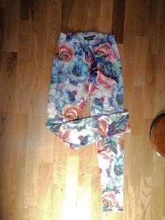 Dangerfield / pump kitchen floral tights 6