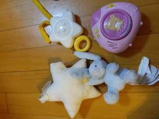 Baby toy, vtech, chicco, zara 全部有音樂有聲,9成新