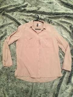 BNWOT Divided H&M Women's Blouse Size 8