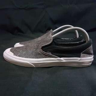 Vans Slip on Black denim size 40.5 second