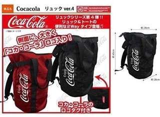 包順豐可口可樂 coca cola 兩用 背囊 背包 書包 單肩袋