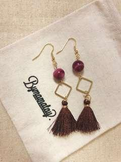 🚚 Red Oriental Tassels (Made to order)