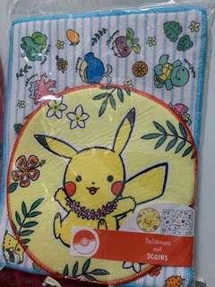 Pokemon 地毯 兩張