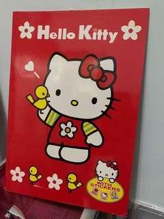 Hello Kitty 簿連貼紙