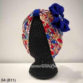🚚 Zahra Baby/Kids Turban 04 (Batch 11)