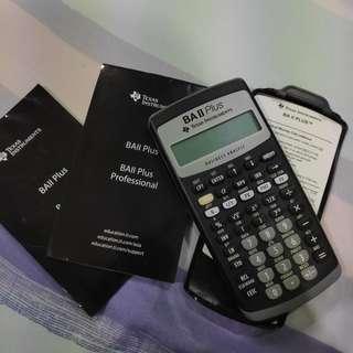 Texas Instruments Financial Calculator BA|| Plus