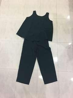 🚚 SALE!BN sleeveless top pant suit set