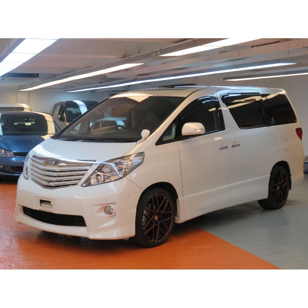 2011 Toyota Alphard 3.5